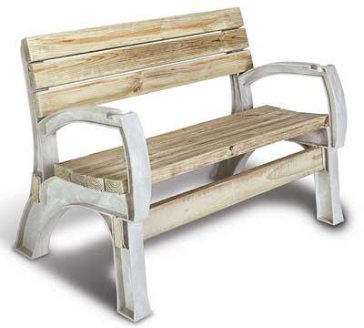 9. Hopkins 90134ONLMI AnySize Chair 2x4basics or Bench Ends