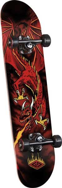 Powell Golden Dragon Flying Skateboard