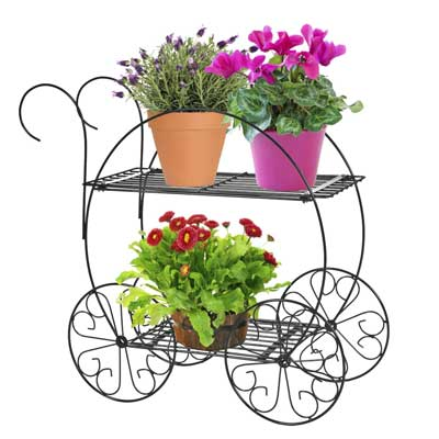 2.CobraCo Two Tiered Garden Cart FC100