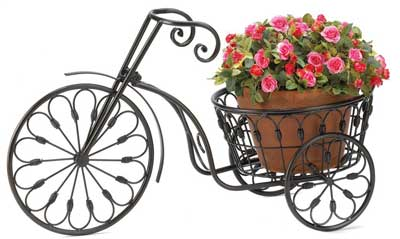 1.Bicycle Plant Stand Iron Metal Plant Holder
