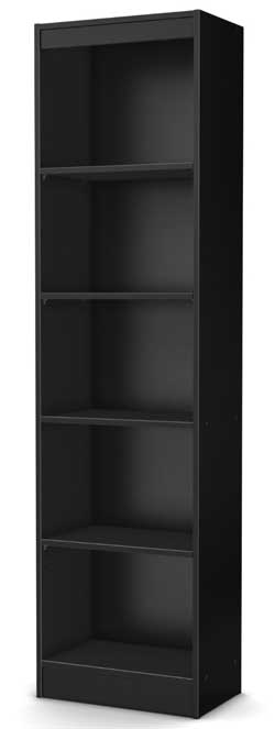 5. South Shore Axess Narrow Bookcase: