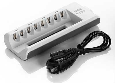10. EBL 8 Bay Charger - Best Battery Charger