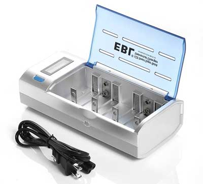 7. EBL Universal Battery Charger