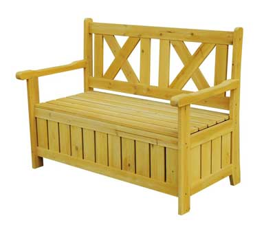 7 Leisure Season SB6024 Bench with Storage