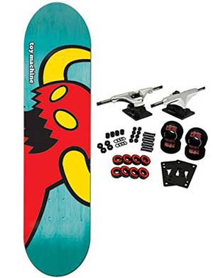 TOY MACHINE Complete Pro Skateboard VICE MONSTER