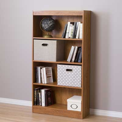 2. South Shore Axess Bookcase