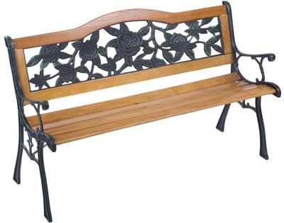 1. Merax Garden Park Bench Outdoor Bench